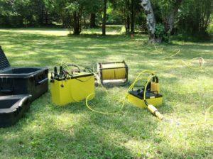 AGI SuperSting Electrical Resistivity Imaging