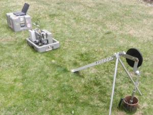 Optical Borehole Imaging Geophysical Survey