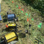 Electrical Resistivity Equipment for 2100 ft Wenner Array Sounding
