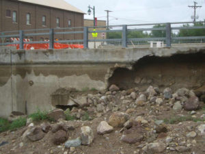 GPR Dam Bridge Washout