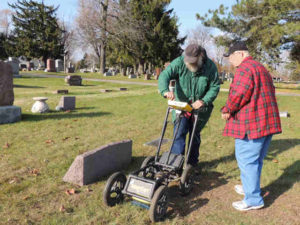 GPR for Graves and Archaeology