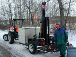 Powerful 7000 ft-lb MASW Source for Deep Surveys
